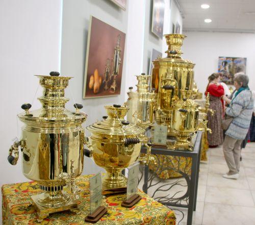 Выставка самоваров
