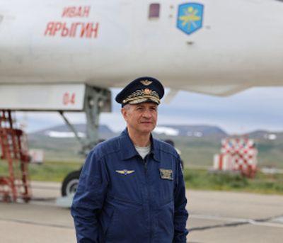 Командующий Дальней авиацией ВКС России генерал-лейтенант Сергей Кобылаш