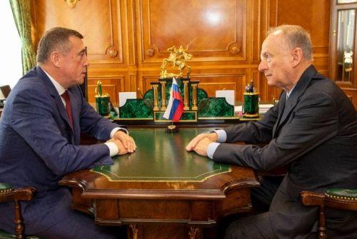 Валерий Лимаренко и Николай Патрушев