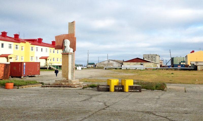 Площадь им. Ленина, с. Лаврентия