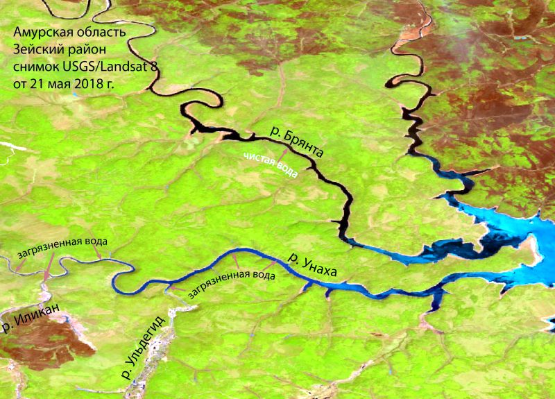 Стартовал полномасштабный спутниковый мониторинг состояния водных объектов