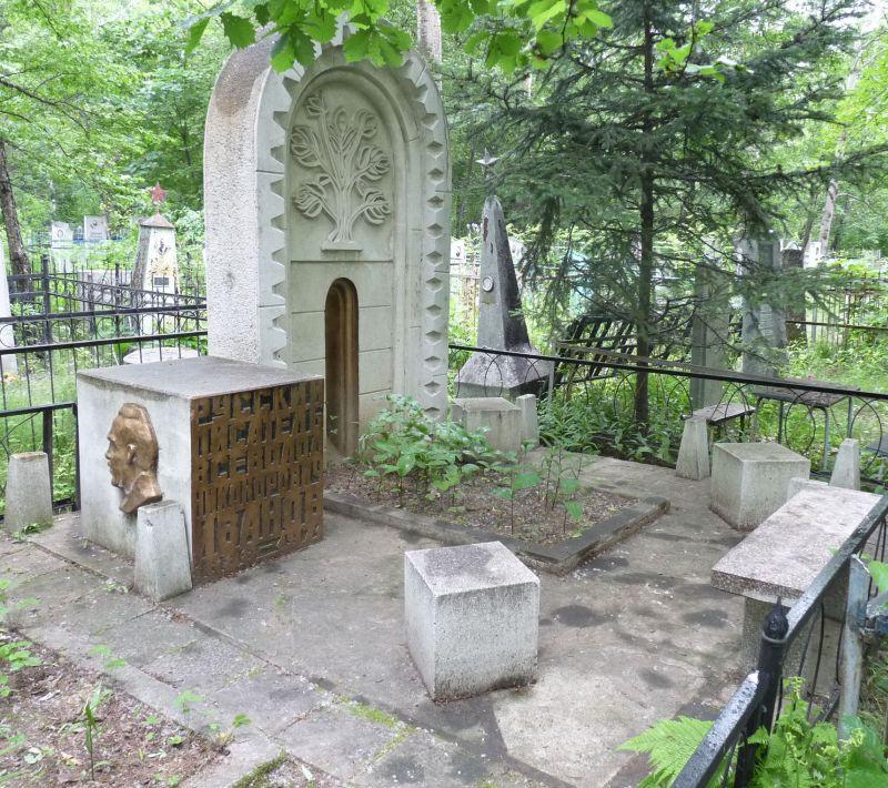 Таким был некрополь Вс.Н. Иванова в Хабаровске