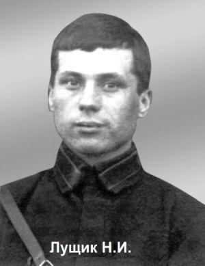 Оперуполномоченный УНКВД ЕАО Николай Лущик.
