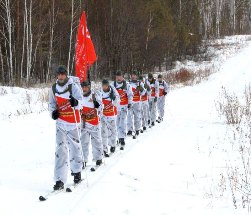 Участники перехода Хабаровск-Москва, преодолели более 1 тысячи километров