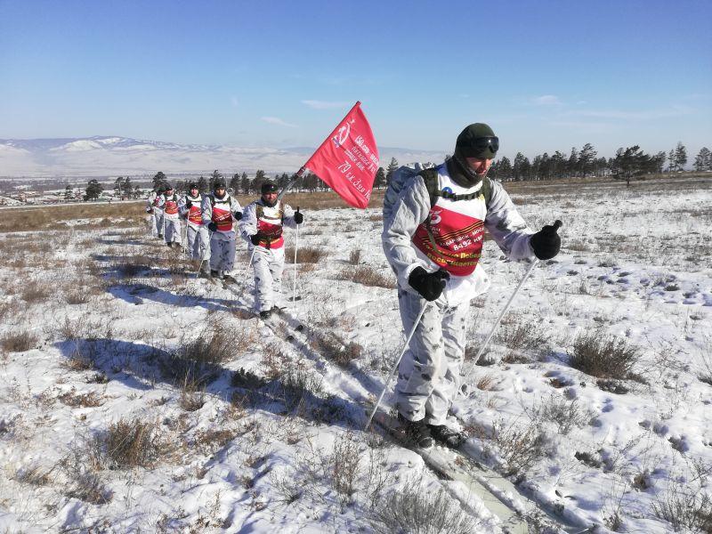 Военнослужащие ВВО - участники перехода Хабаровск - Москва установили очередной рекорд
